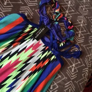 Fashion Nova Dresses - NWT Fashion Nova Cartagena Maxi multicolored dress